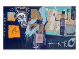 Slave Auction, 1982 Giclee Print by Jean-Michel Basquiat