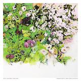 Green Garden II Poster by Diane Lambin
