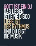 Gott ist ein DJ Plakaty
