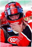 Al Unser Jr. Kansas Speedway Archival Photo Poster Posters