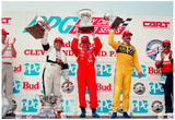 Emerson Fittipaldi Podium Archival Photo Poster Poster