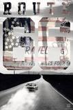 Route 66 - USA Plakáty