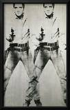 Double Elvis, c.1963 Framed Giclee Print by Andy Warhol