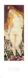 Adam and Eve Poster van Gustav Klimt