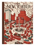 The New Yorker Cover - May 30, 1925 Premium Giclee Print by Ilonka Karasz
