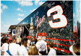 Dale Earnhardt Fan Memorial NASCAR Archival Photo Poster Prints