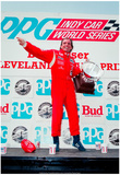 Emerson Fittipaldi Victory Circle Archival Photo Poster Posters