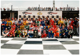 NASCAR 50th Anniversary Drivers Archival Photo Poster Prints