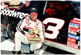 Dale Earnhardt Victory Lane Archival Photo Poster Prints