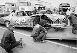 Richard Petty Wreck 1978 Archival Photo Poster Plakater