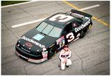 Dale Earnhardt 1993 Daytona 500 Archival Photo Poster Lámina