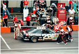 Davey Allison Pit Stop Archival Photo Poster Poster
