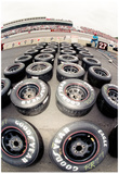 NASCAR Tires Archival Photo Poster Posters