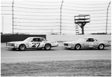 Benny Parsons and Dale Earnhardt 1978 Archival Photo Poster Pósters