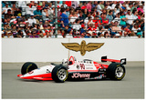 Lyn St. James Indianapolis 500 Archival Photo Poster Print