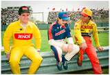 Ernie Irvan and Jeff Gordon Archival Photo Poster Prints