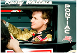 Rusty Wallace Cockpit Archival Photo Poster Poster