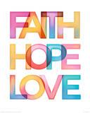 Foi, espoir, amour Posters