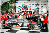 Dale Earnhardt Daytona 500 Victory Lane 1998 Archival Photo Poster Pósters