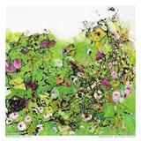 Green Garden I Prints by Diane Lambin