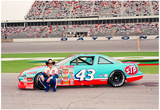 Richard Petty Archival Photo Poster Print