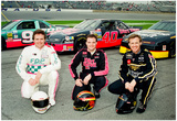 Rusty, Kenny and Mike Wallace 1993 Daytona 500 Archival Photo Poster Láminas