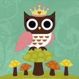 Princess Owl Posters par Nancy Lee