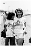 NASCAR Grid Girls 1976 Archival Photo Poster Photo