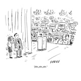 """Jobs, jobs, jobs."" - New Yorker Cartoon Premium Giclee Print by David Sipress"