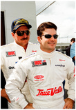 Jeff Gordon and Dale Earnhardt 1997 IROC Archival Photo Poster Affiches