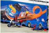 Hot Wheels NASCAR Hauler Archival Photo Poster Fotografía
