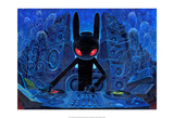 DJ BlackRabbit Posters by Aaron Jasinski