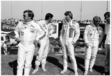 IndyCar Drivers 1976 Archival Photo Poster Poster