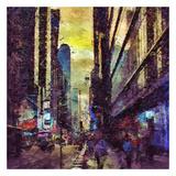 Painted City II Plakater av Jean-François Dupuis