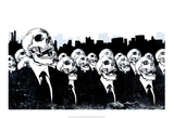 We Live No More Plakat af Alex Cherry