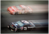 Dale Earnhardt and Mark Marin Archival Photo Poster Prints