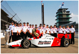 Gil de Ferran 2003 Indianapolis 500 Champion Archival Photo Poster Posters