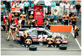 Rusty Wallace Pit Stop Archival Photo Poster Photo
