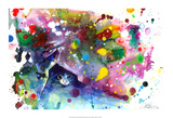 Miaou Posters par Lora Zombie