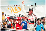 Dale Earnhardt Victory Lane Archival Photo Poster Print