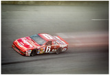 Mark Martin Speed Archival Photo Poster Print