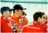 Dale Earnhardt Jr. Elliott Sadler and Jeff Gordon Archival Photo Poster Prints