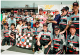 Dale Earnhardt Victory Lane Archival Photo Poster Posters