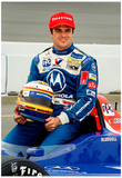 Mark Blundell Indycar Archival Photo Poster Poster