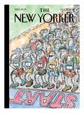 The New Yorker Cover - October 22, 2012 Premium Giclee Print by Edward Koren