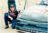 Mark Martin 1989 Archival Photo Poster Photo