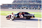 Dale Earnhardt 1994 Daytona 500 Archival Photo Poster Posters