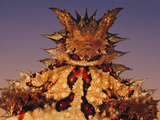 Thorny Devil, Moloch Horridus, Central Desert, Australia Photographic Print by Frans Lanting