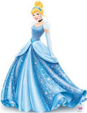 Princess Cinderella Sparkle - Disney Lifesize Standup Poster Stand Up