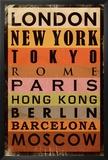 Cities Prints